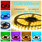 5M Led Strip 12V Waterproof red white blue green purple yellow IP65 300SMD DIY