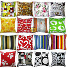 Handmade Cotton Canvas Craft home decorative Cushion Covers/Pillow Cases YBS980