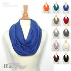 NEW FASHION WOMEN  INFINITY CIRCLE TUBE SCARF MULTI COLOR NATURAL SOFT/ SS201