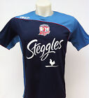 Sydney Roosters Training Shirt Sizes S-3XL Navy BNWT