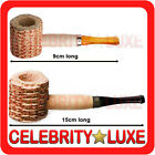 New Corn Cob Popeye Tobacco Cigarette Smoking Wooden Pipe Party Fancy Costume