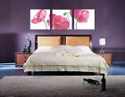 Gorgeous Poppy Flowers Decorative Canvas Print Set Of 3 High quality  - Framed
