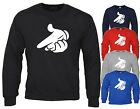 DRAKE SWEATER MICKEY MOUSE GUN HANDS SWEATSHIRT JUMPER YMCMB DOPE FRESH SWAG