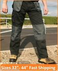 "Baratec Workman Work Wear Trousers Cargo Combat Pants Knee Pad Pockets 32"" - 44"""