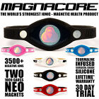 MAGNACORE Magnetic Infinity Pro Ionic Power Band 1000 Gauss Magnets 3500+ IONS!