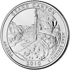 Grand Canyon National Park Quarter 2010 BU From Mint Roll P/D or P&D Mint