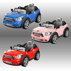 MINI KIDS RIDE ON CARS ELECTRIC CHILDRENS 6V BATTERY REMOTE CONTROL TOY CAR