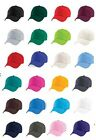Boys Girls Childs Childrens Kids Baseball Cap Yellow Blue Green Orange Pink Red