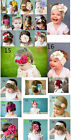 1pc Baby Girl Toddler Cotton Flower Headband Headwear Hair Band Soft Free Ship