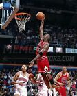 Michael Jordan Chicago Bulls slam dunk  8x10 11x14 16x20 photo  012