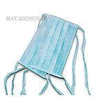 50x DISPOSABLE SURGICAL TIE ON face MASK Salon Dust Cleaning Flu Medical CE Mark
