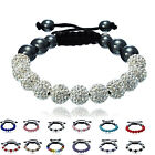 Top quality Crystal disco ball friendship Shamballa Bracelet 1110 design