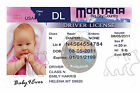 Absolutely Adorable Faux Drivers License birth announcements