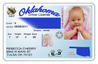 Absolutely Adorable Faux Drivers License birth announcements #2