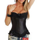 HOT Fashion Elegant Lace up Boned Brocade Sexy Corset Bustier Top G-String S-2XL