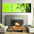 Green Bamboo Zenish theme Canvas Print Set High quality - Framed ready to hang