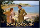 Scarborough, Yorkshire. LNER Vintage Travel Poster print by W Smithson Broadhead