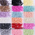 Hot Sale Half-round Flatback Acrylic Pearl For Nail Art Phone Craft 2000pcs