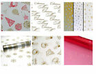 Christmas Cellophane Gift Wrap 3m ~ Different Designs to Chose from