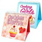 Childrens Flip Over Cookbook Baking Recipe Book Cupcakes and Muffins 2 Set Chef