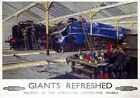 Giants Refreshed, Doncaster Yorkshire. BR Vintage Travel Poster by Terence Cuneo