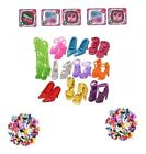 Mix 12-15-25 ITEMS SHOES ACCESSORIES ALL DIFFERENT STYLES FOR BARBIE FREEPOST UK