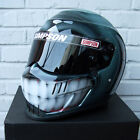 Simpson Speedway RX SA10 Custom painted by airbrush helmet Smile Man