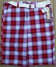 SOUTH POLE MENS STYLE 12121-3322 CASUAL/BERMUDA SHORTS W/BELT LIST $40