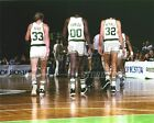 Bird Parrish McHale Boston Celtics walking off court  8x10 11x14 16x20 photo 832