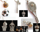 "Sports 16"" Rhinestone Necklaces, Many styles, BUY 3/1 FREE, SHIP FREE in USA"