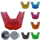 ZstarAX TRANSPARENT Gum Shield Double / Mouth Guard Teeth Protector Adults