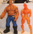 fantastic 4 johnny storm Human Torch Ben Grim Action force figures 12 inches