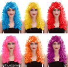 Womens Ladies Sexy Long Curly Party Fancy Dress Costume Full Wigs