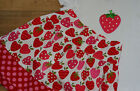 GIRLS STRAWBERRY OUTFIT SET / BRAND NEW / NEXT DAY DISPATCH , AGE 4 5 6 7