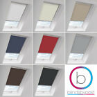 BLACKOUT THERMAL SKYLIGHT ROLLER BLINDS FOR VELUX ROOF WINDOWS - ALL SIZES