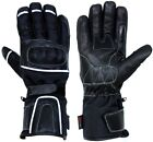Leather & Textile Motorbike Scooter Motorcycle Thermal Waterproof Touring Gloves