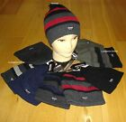 Thinsulate Mens/Older Boys Warm Thermal Cap Plain or Striped Wooly One Size
