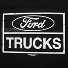 Ford Trucks Logo T-Shirt Black Car Auto Authentic Motor Company BABA