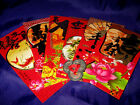 COI33 Feng Shui Ang Pow/Hung Boa/Red Packet + 3 Ancient Coins