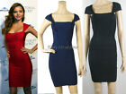 Sexy Bandage Bodycon Dress Evening Cocktail Prom Party Dress Mini 3015# XS S M L