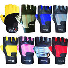 Weight Lifting Gloves Gym Exercise Fitness Body Building Gloves Ladies, Mens