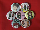 DARIA Comic  CARTOON  TV ALL NEW Set of 7 Select-a-Size  Pinback Buttons