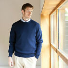 Henbury Crew Neck lambswool jumper All Colours & Sizes