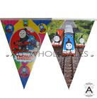 THOMAS THE TANK & FRIENDS BIRTHDAY FLAG BANNER BUNTING PARTY SUPPLIES-1PACK