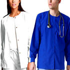 Kyпить Medical Nursing Dental Warm up Jackets Lab Coat Scrub Top For Women Men Unisex  на еВаy.соm