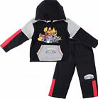 Girls hooded long sleeve-sweat top/jogging pants tracksuit outfit set 4-12years