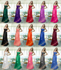 New Formal Long Cocktail Bridesmaid Prom Gown Ball Evening Dress Plus Size 6-26