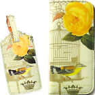 *JAPANESE BIRD* SNAP CLASP PURSE New Floral Bag Case Coin Pocket Holder Wallet