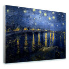 GIANT Canvas Van Gogh Starry night over the rhone gallery photos poster giclee©