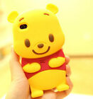 CUTE WINNIE THE POOH 3D IPHONE 4 & 4S 5 CASE COVER - SOO ADORABLE CARTOON